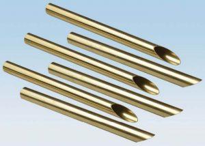 C44300 C68700 Tube d'alliage de cuivre en laiton ASTM B111