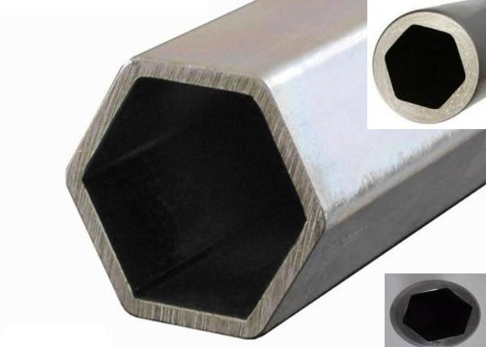 201/202/301 / 409L / 416 Tuyau / tube hexagonal en acier inoxydable