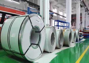 Bobine en acier inoxydable 321 1.4541 / X6CrNiTi18-10