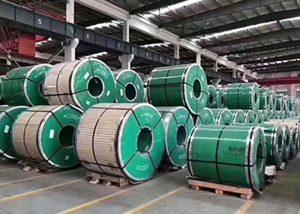 Bobine d'acier inoxydable avec ASTM JIS DIN GB