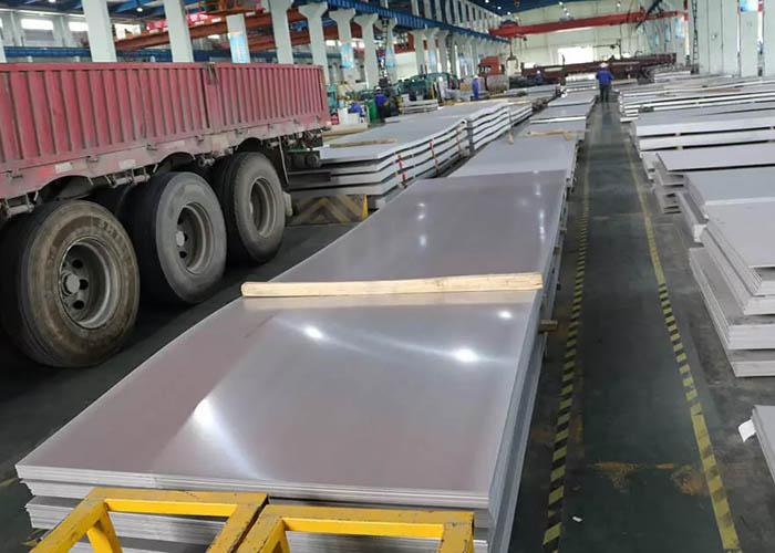 S32750 S32205 2205 2507 904L S31803 Feuille d'acier inoxydable duplex