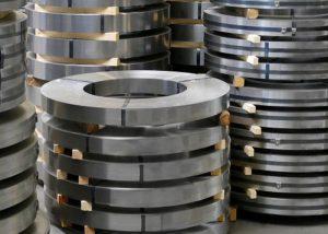 201304316309 bande d'acier inoxydable laminée à froid avec 2B / BA / No.4 / HL / surface miroir