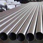 Tube en acier inoxydable soudé EN10312 pour l'eau potable